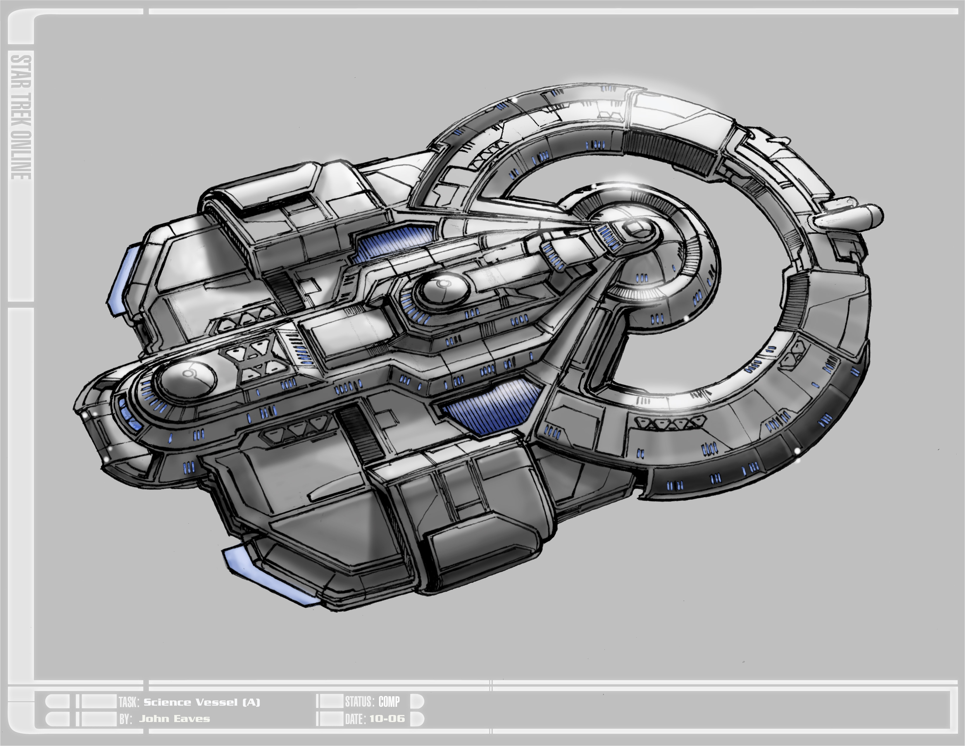 Was Looking At Ship Concept Art And Found The T6 Scryer Intel