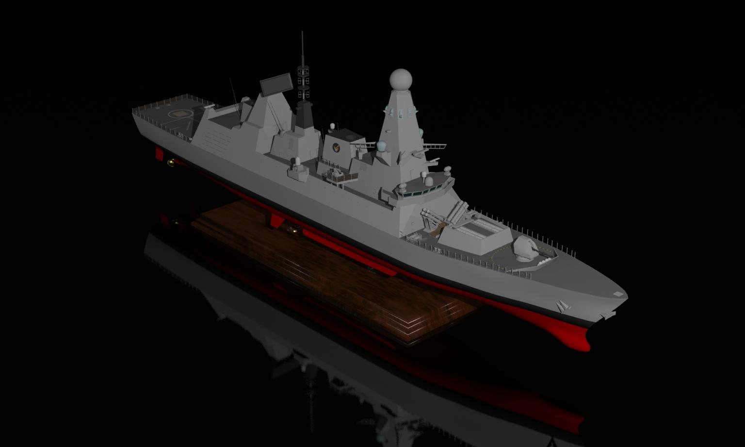 royal navy type 45 daring class destroyer